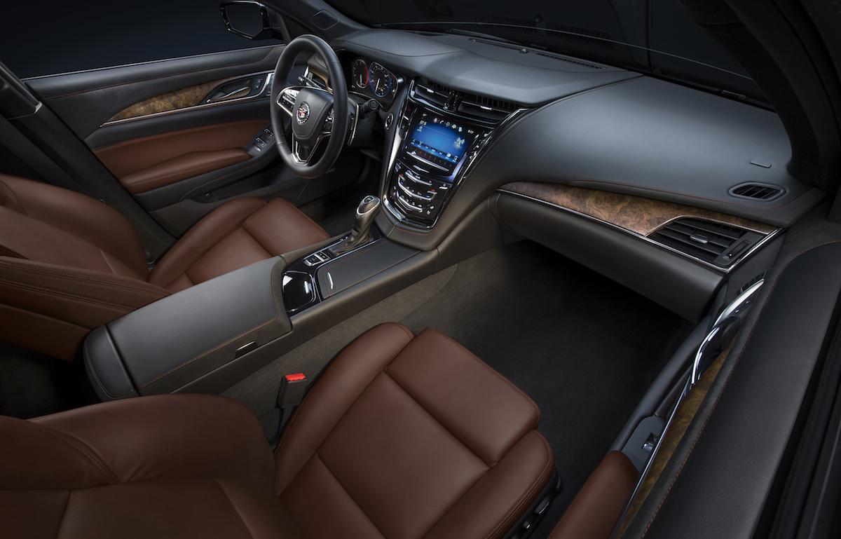 cadillac cts sedan models premium luxury interior