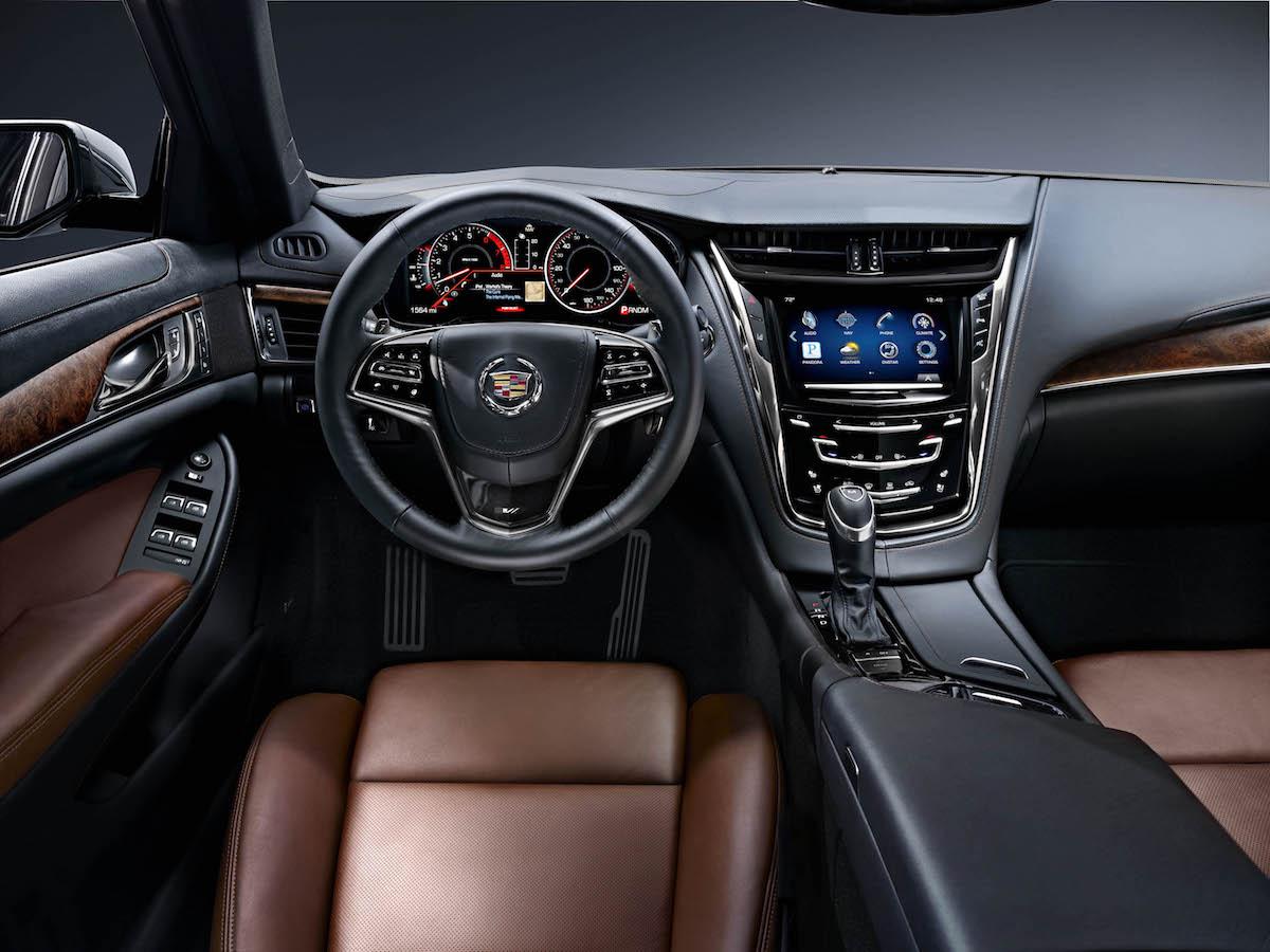 cadillac cts luxuslimousinen premiumsegment mittelklasse mittelklasse-limousinen hersteller usa automarken luxus-limousine limousine innenraum interieur