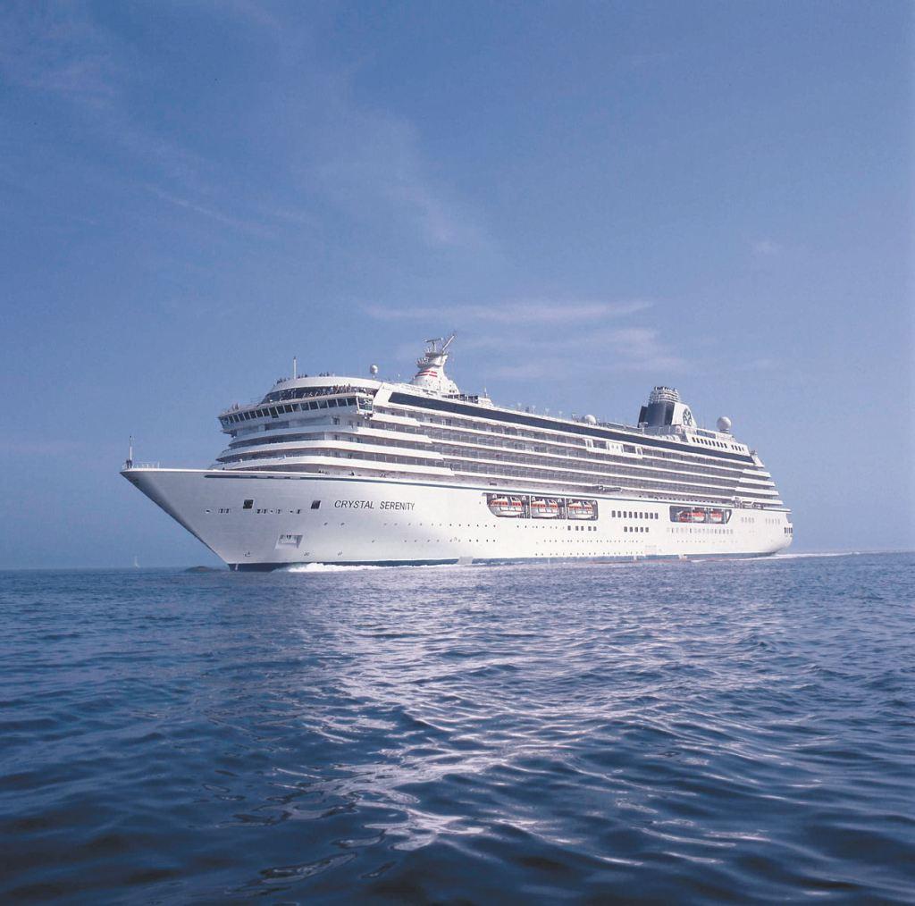 """Das Luxuskreuzfahrtschiff """"Crystal Serenity"""""""