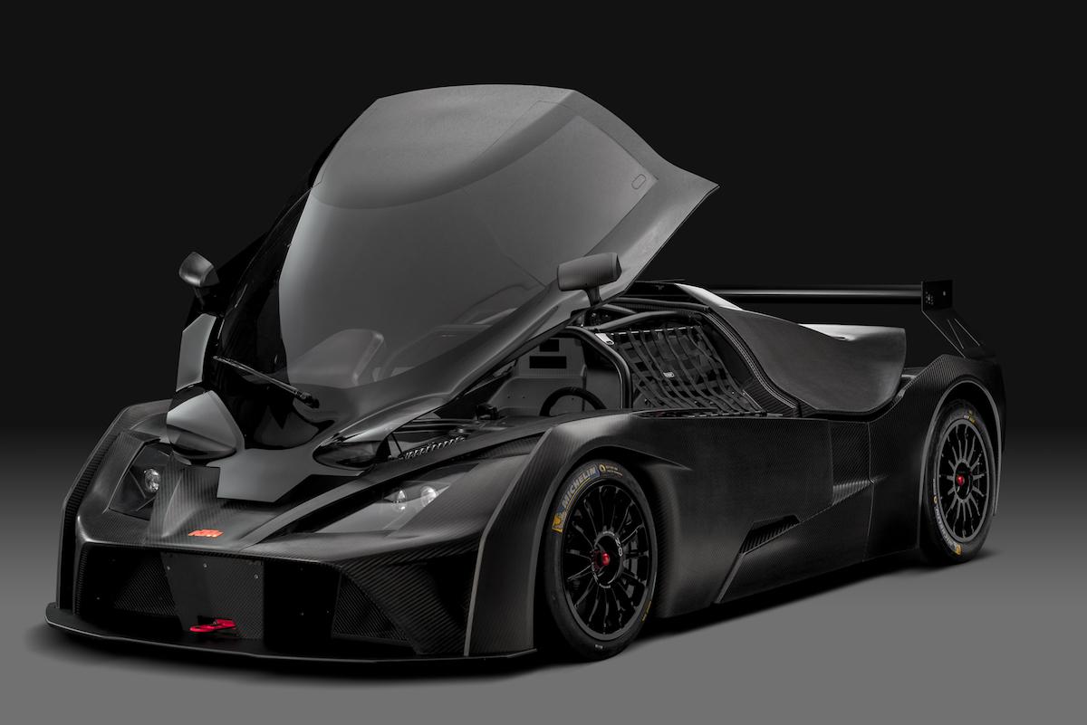 ktm x-bow gt4 rennsport motorsport rennwagen sportwagen modelle 2018 modelljahr