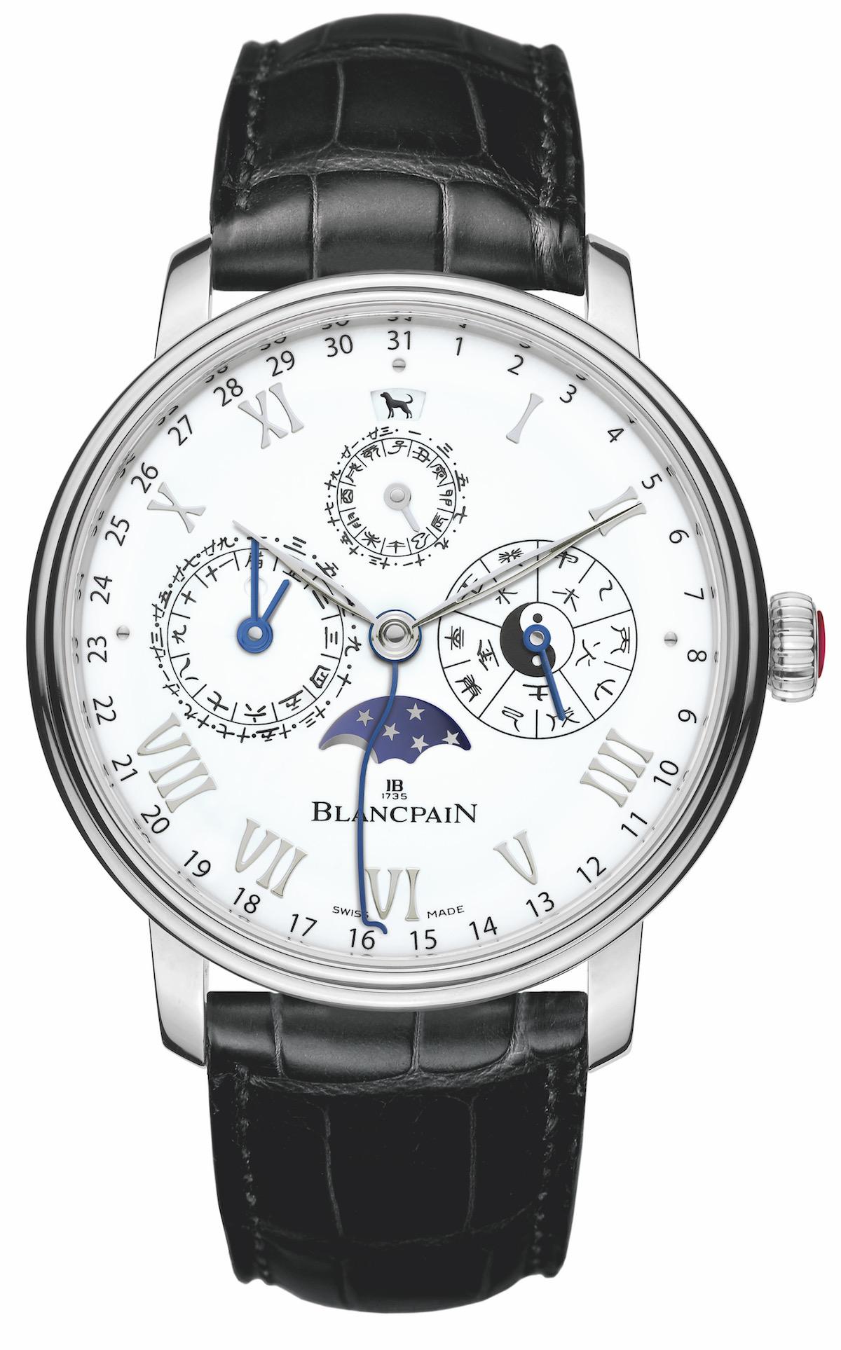 blancpain schweizer luxusuhren schweiz modelle neuheiten herrenuhren uhren herren limitiert limitierte armbanduhren rotgold platin weißgold platingehäuse