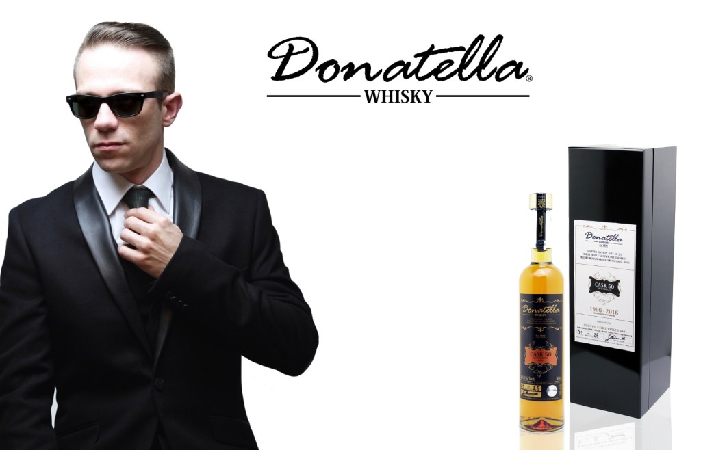 Donatella Whisky Banner - The Cask 50 Edition