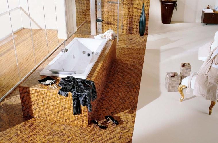 mosaik parkett f r bad oder k che von graf parkett. Black Bedroom Furniture Sets. Home Design Ideas