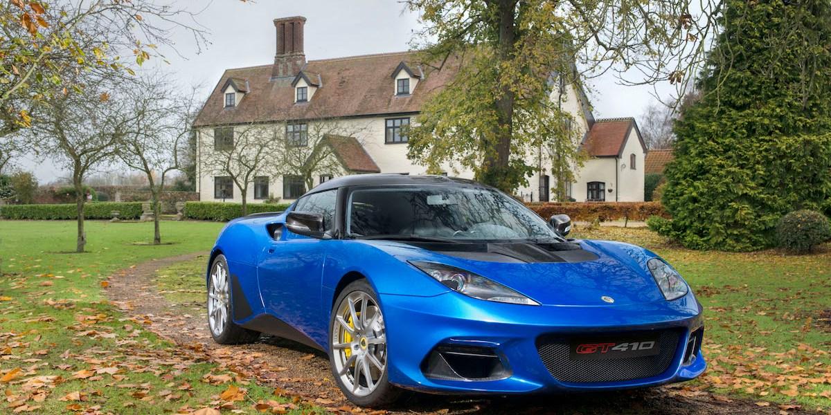 lotus evora gt410 sport new model models sports cars