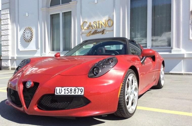alfa romeo 4c spider testbericht fahrbericht schweiz sportwagen modelle motoren ausstattung cabrio cabriolet online magazin automobil
