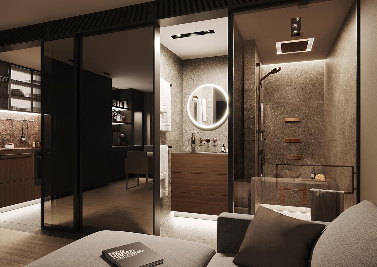 SSPS® Apartment Von Sieger Design: Stadt Wohnung Mit Spa