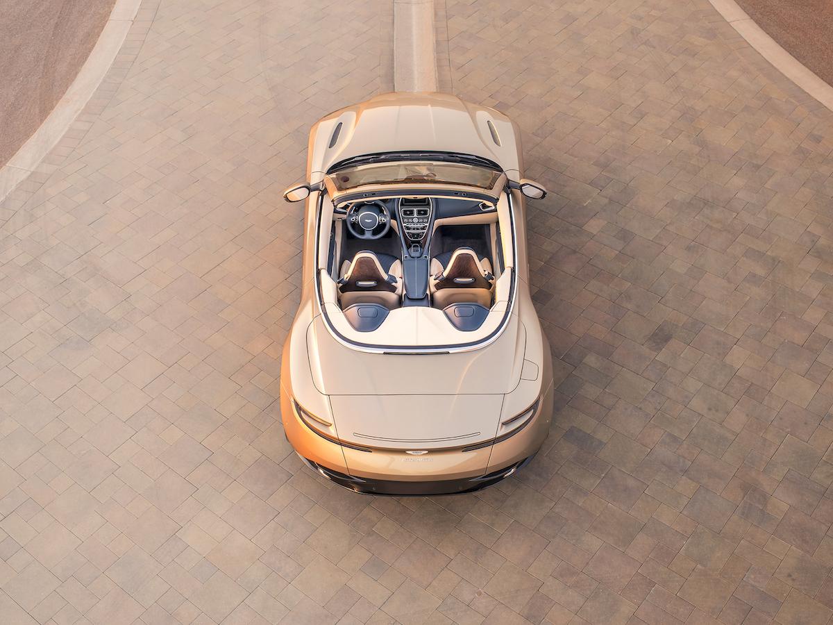 aston martin db 11 volante cabrio cabriolet neue modelle preise deutschland schweiz interieur