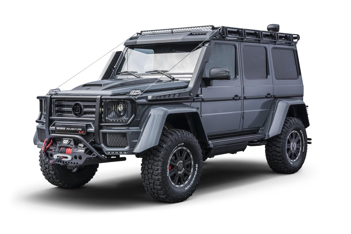 brabus 550 adventure 4x4 mercedes mercedes-benz g-klasse modelle deutschland schweiz neuheiten tuning leistungssteigerung
