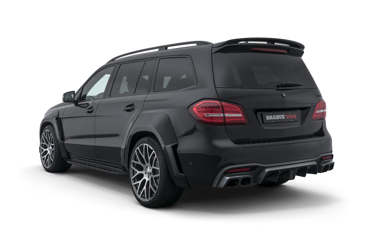 brabus widestar suv luxus tuner tuning veredler veredelung sportwagen luxus-limousinen deutschland schweiz gls-klasse