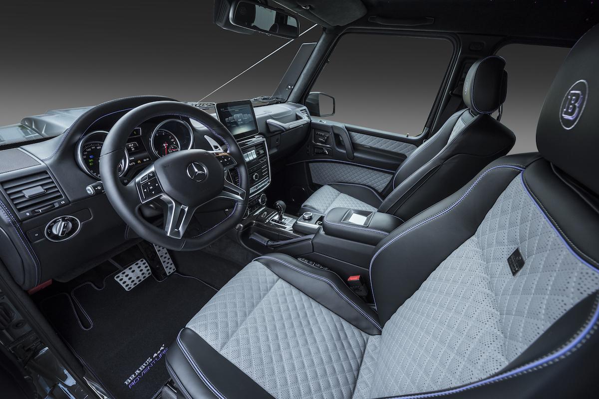 brabus 550 adventure 4x4 mercedes mercedes-benz g-klasse modelle deutschland schweiz neuheiten tuning leistungssteigerung allradantrieb