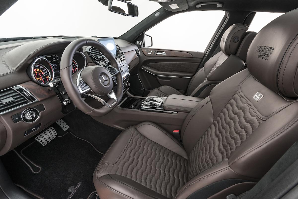 brabus widestar suv luxus tuner tuning veredler veredelung sportwagen luxus-limousinen deutschland schweiz innenraum