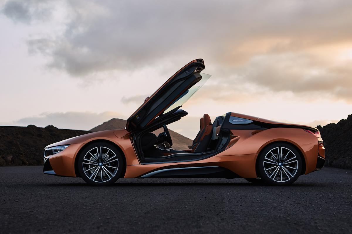 bmw i8 roadster coupe sportwagen modelle motoren leistung modelle elektro hybrid innenraum