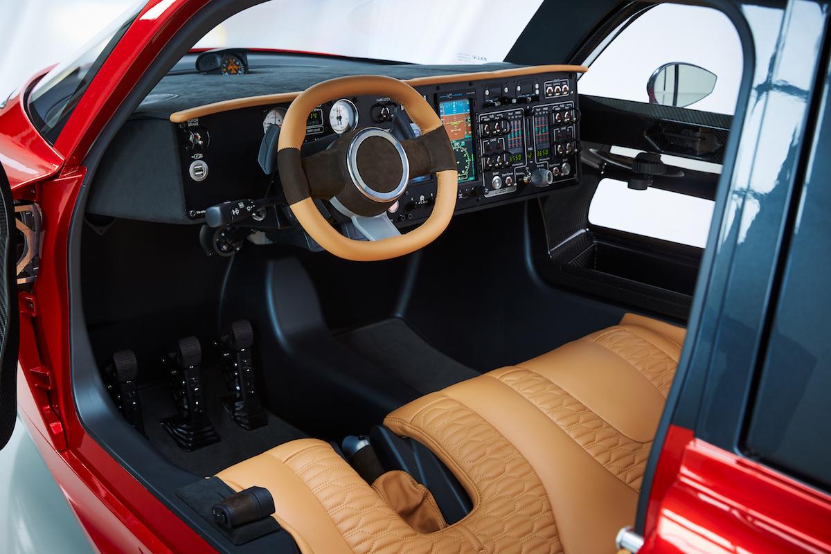 pal-v liberty flugauto hersteller fliegende fliegendes auto autos innenraum cockpit
