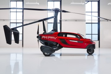 pal-v liberty flying car airshow united kingdom 2018 manufacturers