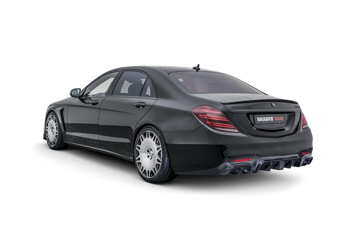 brabus mercedes-benz modelle limousinen luxuslimousinen allradantrieb luxus-limousinen modelle neuheiten 2018 mercedes