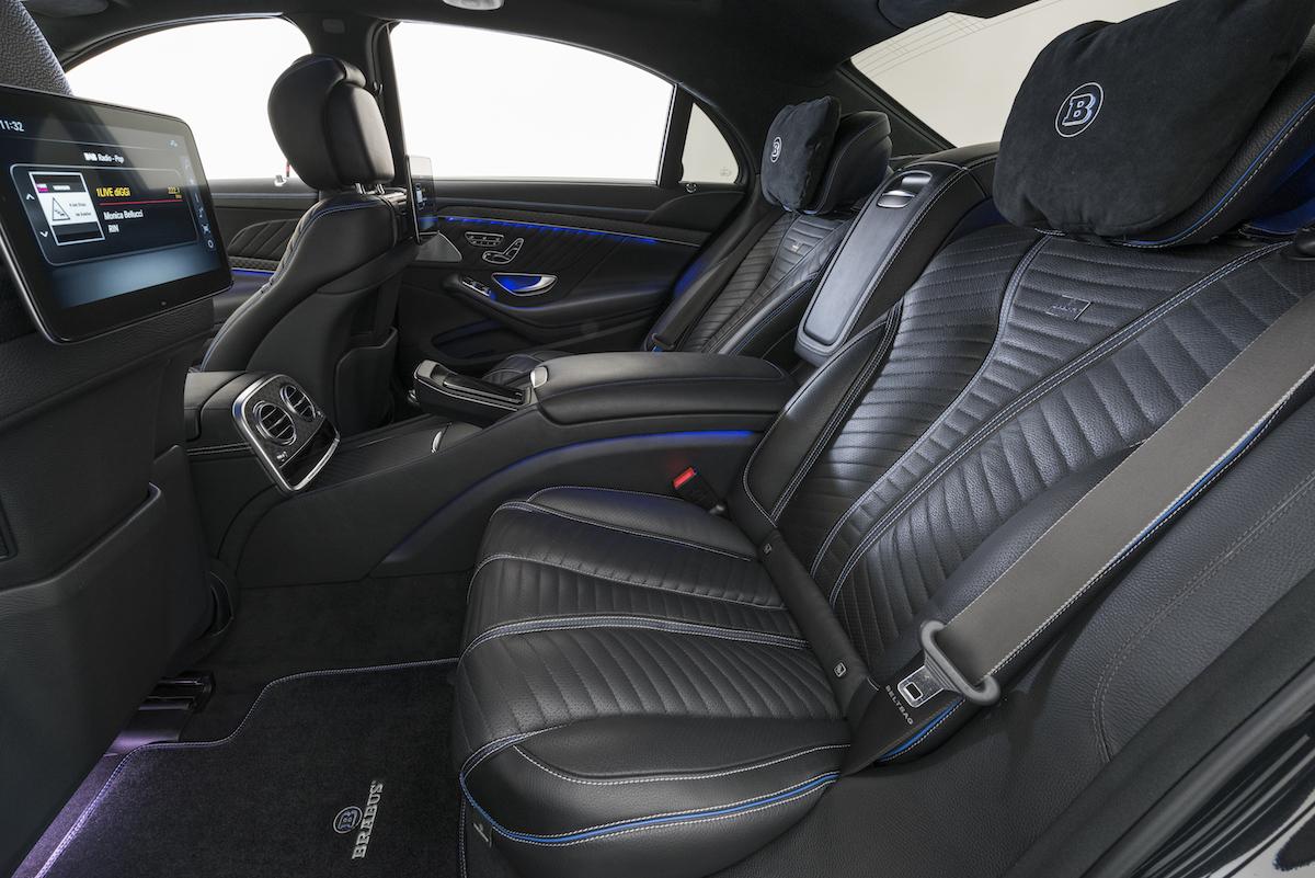 brabus mercedes-benz modelle limousinen luxuslimousinen allradantrieb luxus-limousinen modelle neuheiten 2018 cockpit innenraum
