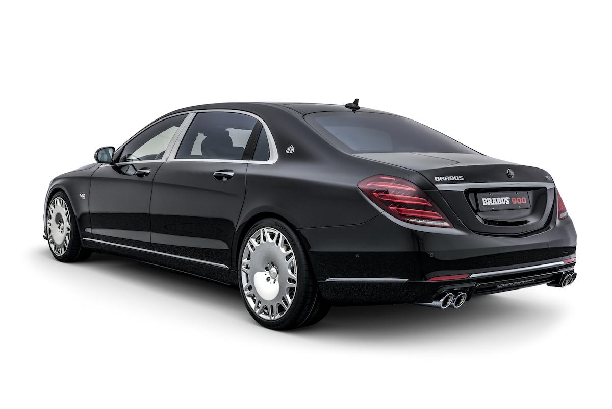 brabus mercedes-maybach mercedes maybach s 650 luxuslimousinen modelle neuheiten