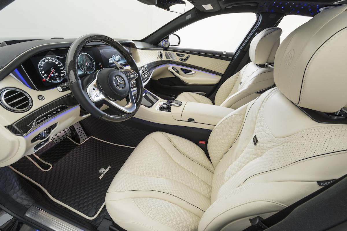brabus mercedes-maybach mercedes maybach s 650 luxuslimousine modelle neuheiten interior