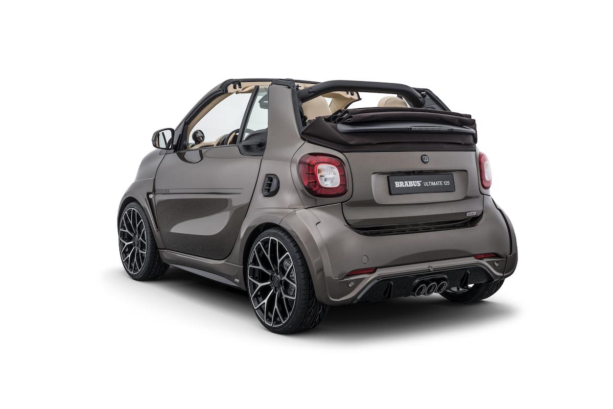 brabus ultimate 125 smart fortwo cabrio cabriolet sondermodelle farben ausstattung preise tuning limitiert