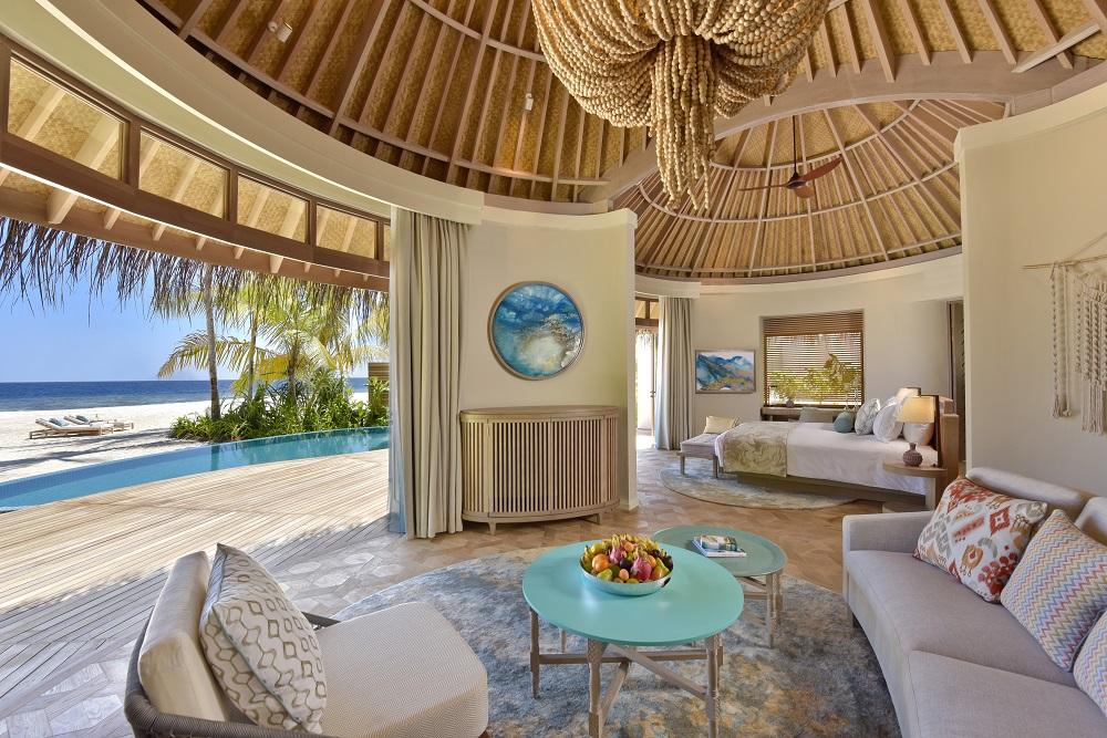 Wohnzimmer Malediven Boheme chic