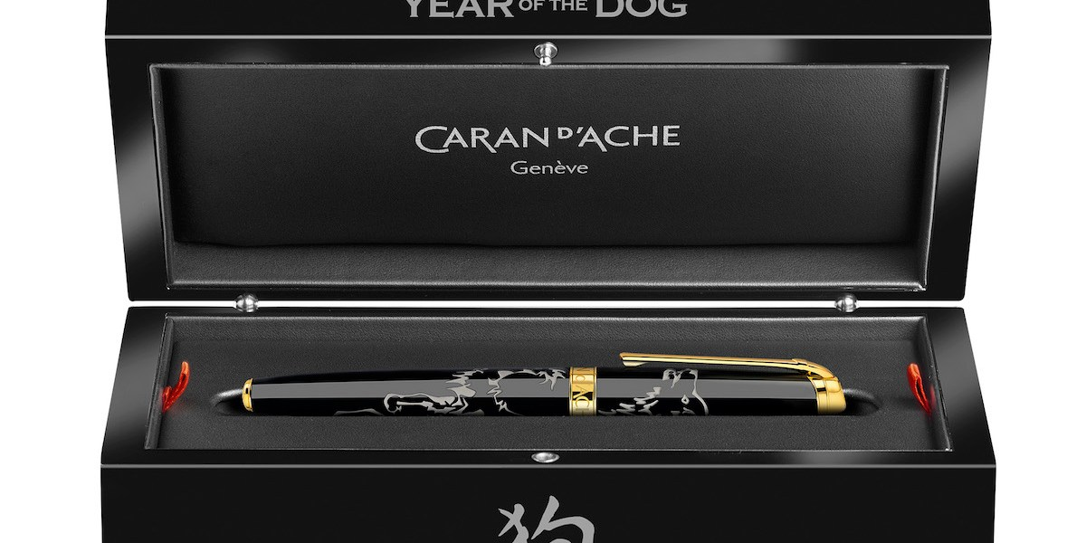 caran d'ache writing instruments limited edition gold swiss made switzerland quality