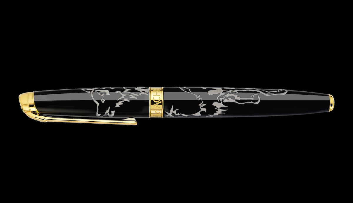 caran d'ache writing instruments limited edition gold swiss made switzerland quality writing