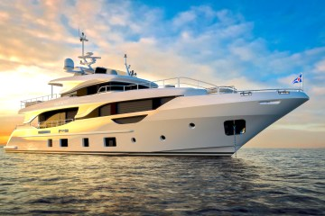 Co-own this elegant Benetti Delfino 95'
