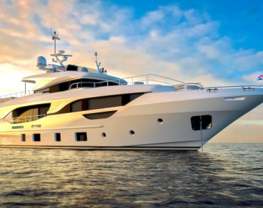 Co-own this elegant Benetti Delfino 95'