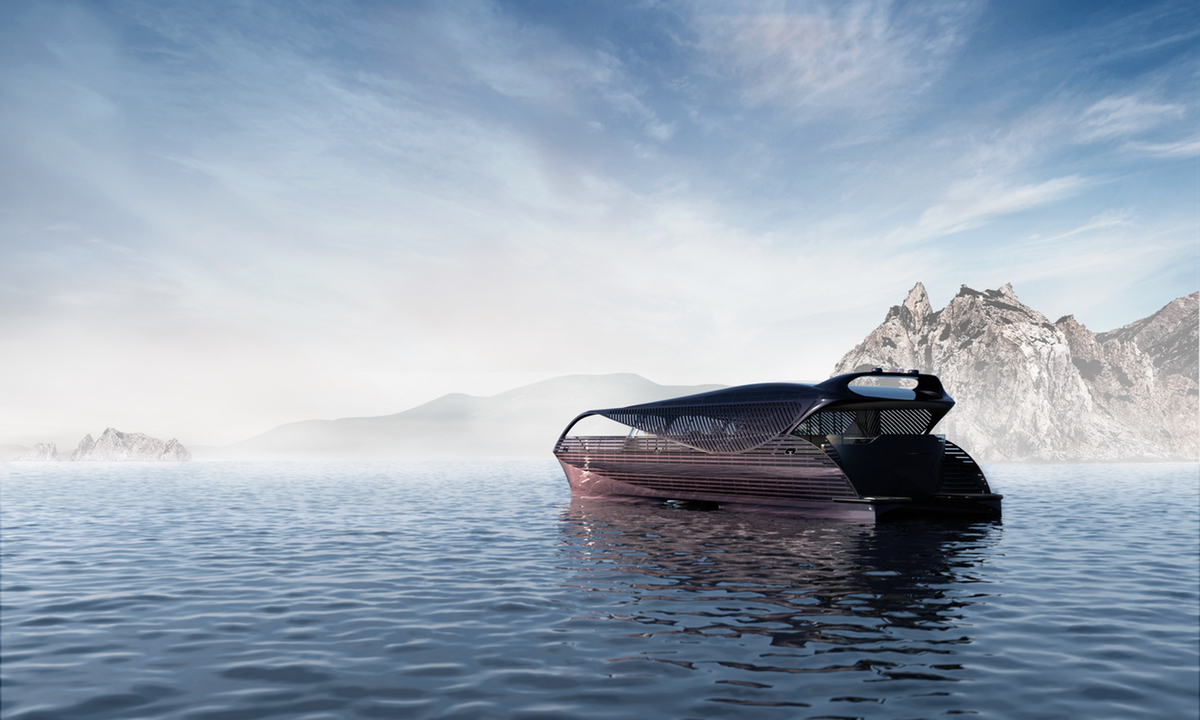luxury luxurious yacht yachts superyachts electric energy sun solar ship boat mobility new technologies