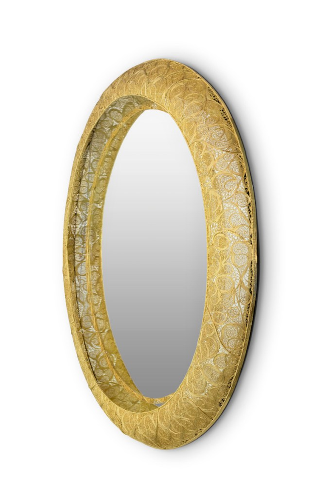 boca-do-lobo luxury furniture interior design designer mirror gold golden mirrors unique
