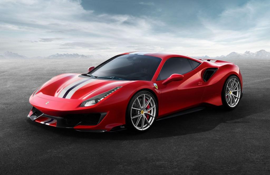 ferrari 488 gtb pista v8 engine turbo biturbo sports cars models new 2019 performance