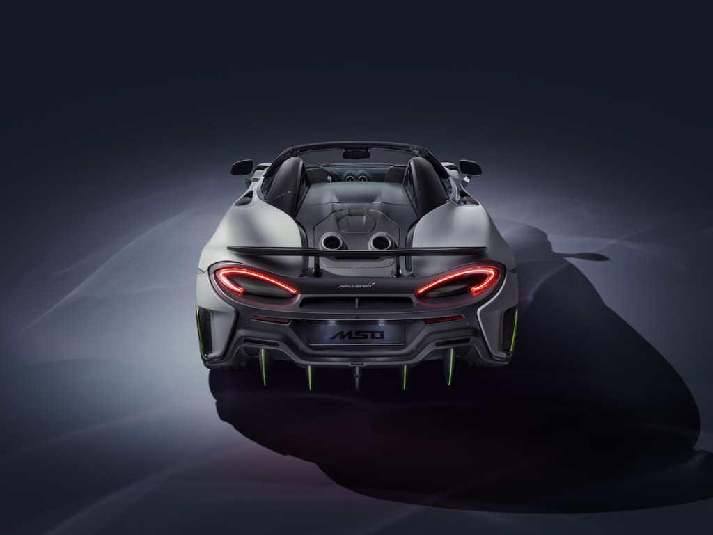 mclaren 600lt spider mso models convertible convertibles colors limited special editions edition unique geneva international motor show 2019 switzerland performance