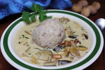 Pilzsuppe – ein herrliches Herbstgericht