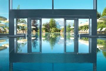 Nach komplettem Umbau präsentiert sich der Spa-Bereich des Fünf-Sterne-Superior-Hotels als Erlebnis- und Entspannungswelt auf höchstem Niveau.