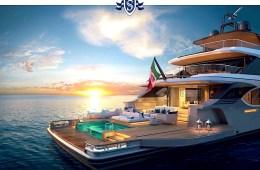 Mit der Benetti Oasis 135' ist das Yacht-Vergnügen perfekt