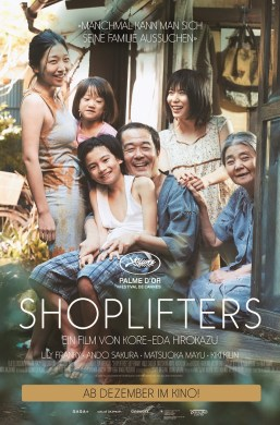Plakat Shoplifters Kinofilm
