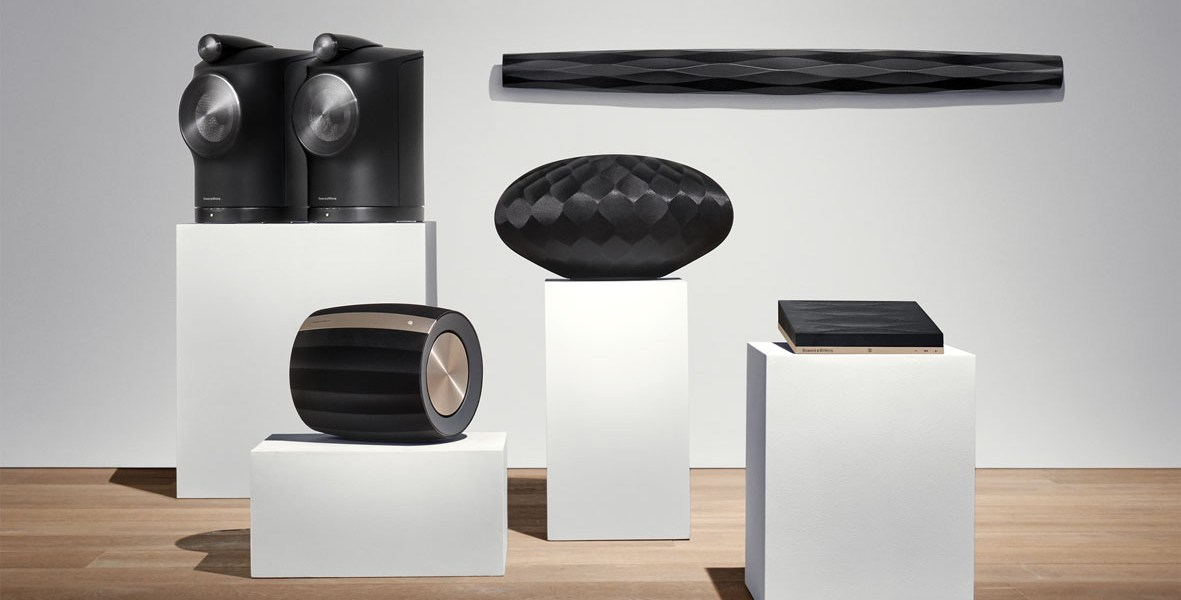 bowers & wilkins high-fidelity hifi audio products brand manufacturer wireless speakers formation suite