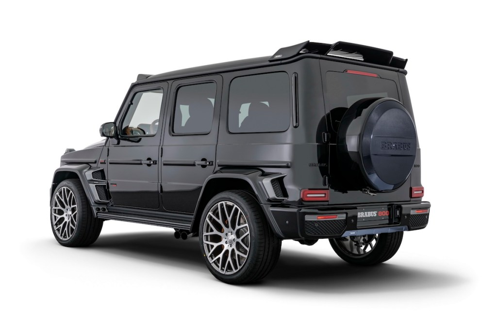 brabus 800 widestar suv offroad offroader cars models limited special editions mercedes-benz mercedes-amg 2019