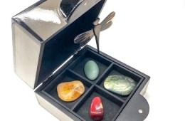 kristalle edelsteine geschenkbox herbst