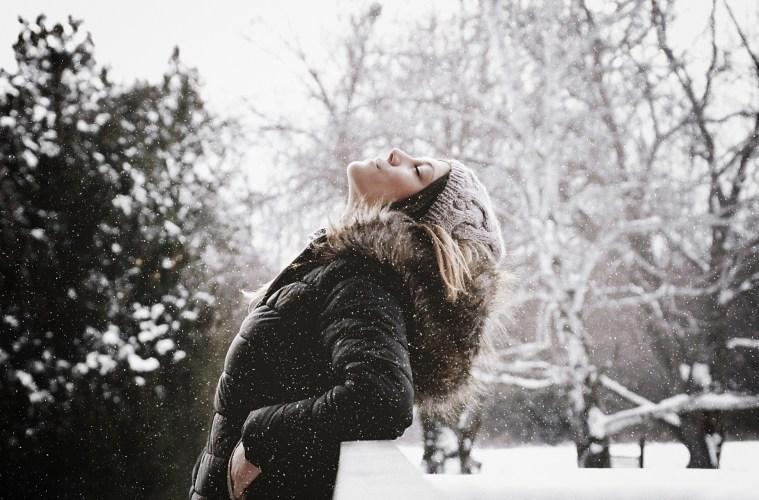 Winterhaut mit Glow