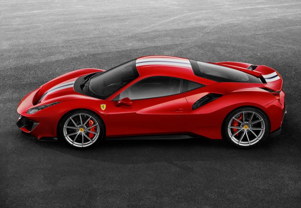 ferrari 488 pista neu neuheiten 2019 neue modelle sondermodelle spezialmodelle v8 motoren supersportwagen