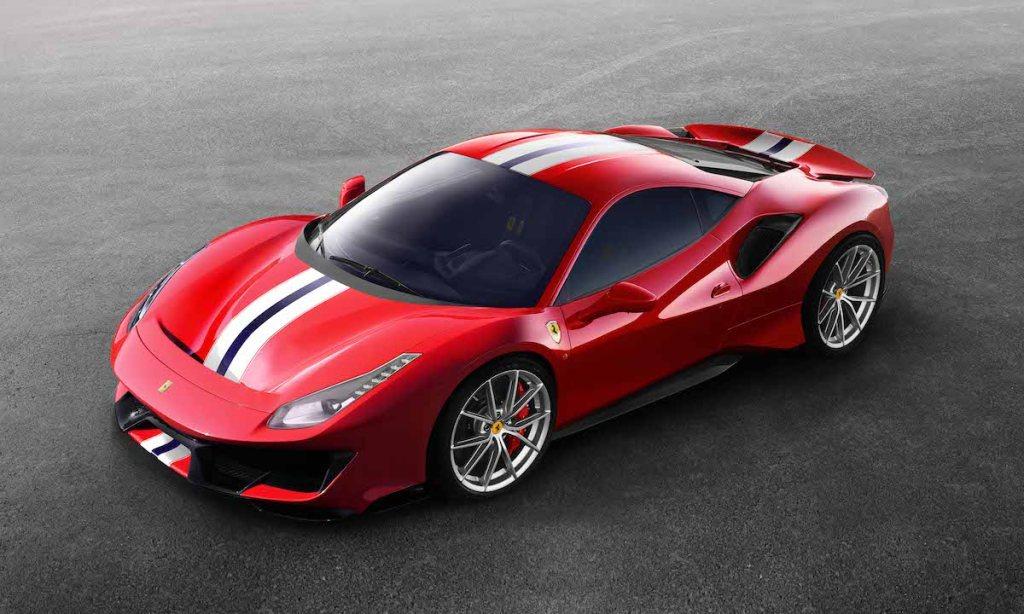 ferrari 488 pista neu neuheiten 2019 neue modelle sondermodelle spezialmodelle v8 motoren sonderversion