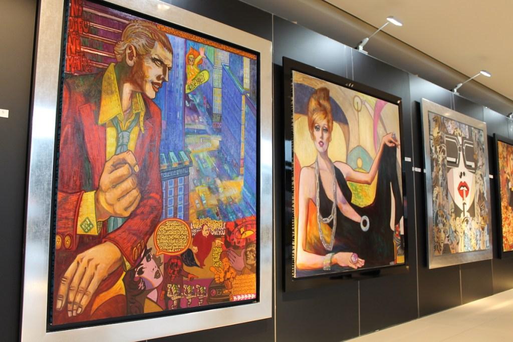 ferrari vertretung niederlassung schweiz zürich garage foitek ag urdorf kunst marc ferrero pop art kubismus