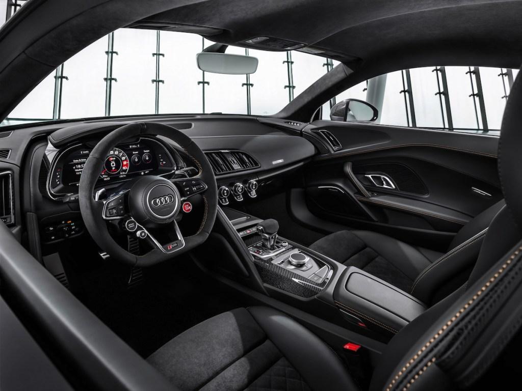 audi r8 v10 decennium sondermodell 2019 neuheiten limitiert cockpit