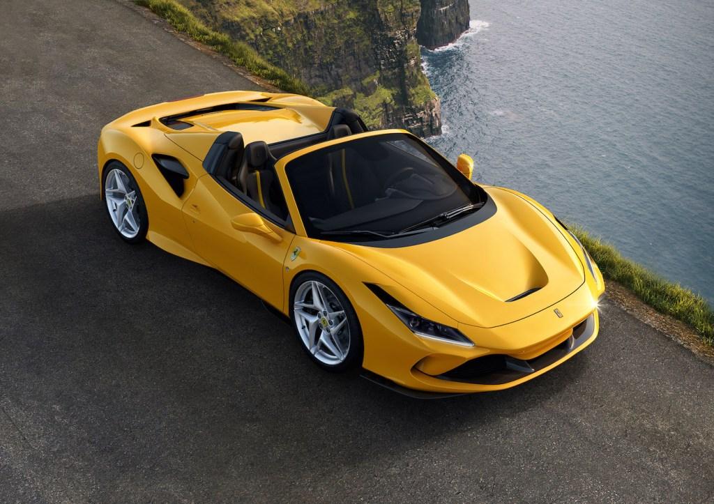 ferrari f8 spider cabriolet modelle neuheit neu v8 motor