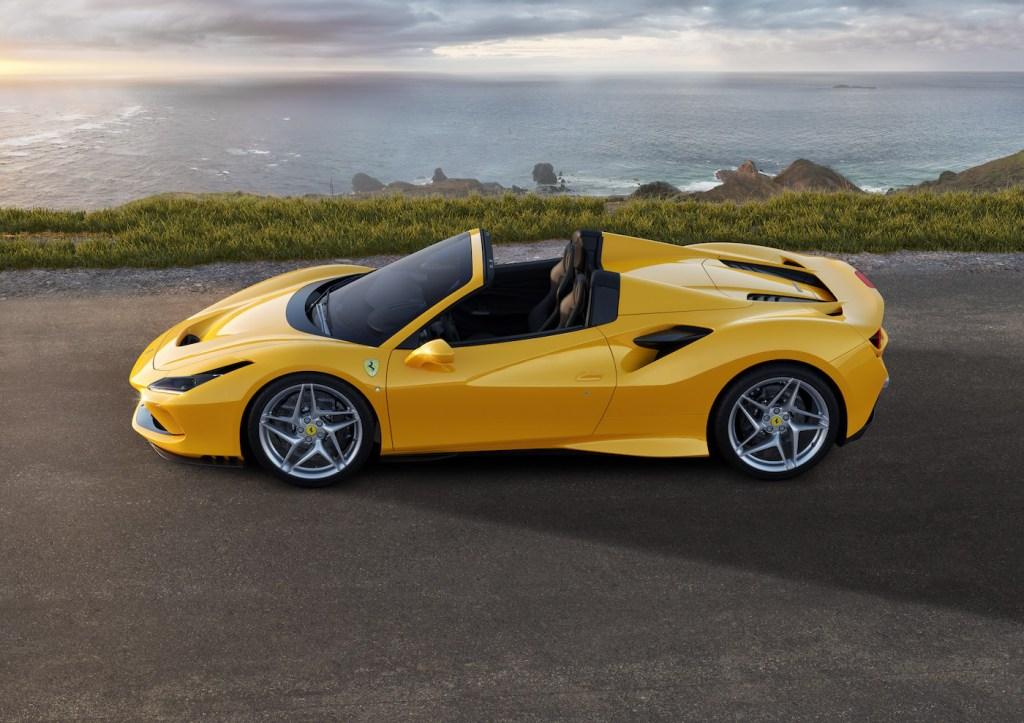 ferrari f8 spider cabriolet modelle neuheit neu v8 motor farben