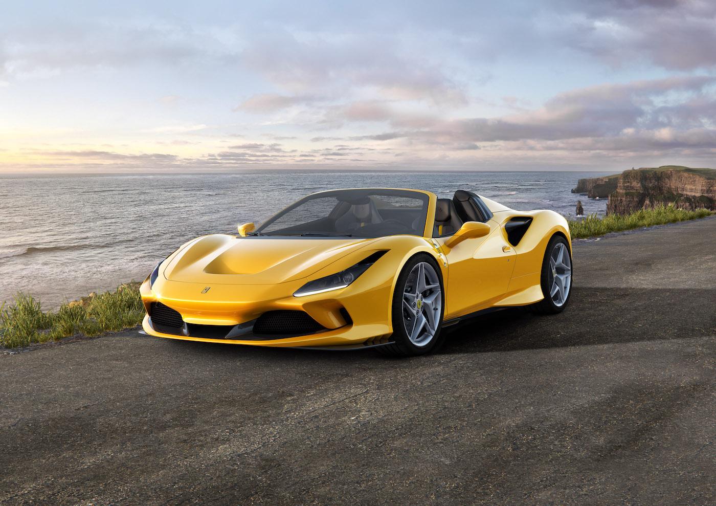 Der Neue Ferrari F8 Spider Mit Dem 720 Ps V8 Mittelmotor Proudmag Com