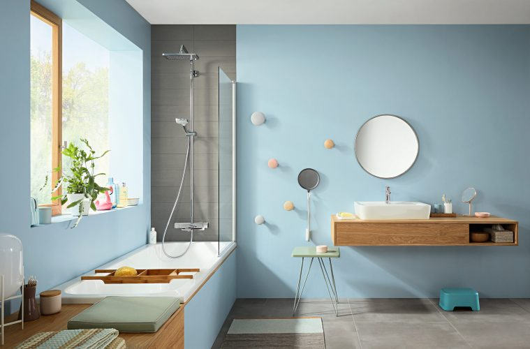 Hansgrohe Croma E Shower Pipe