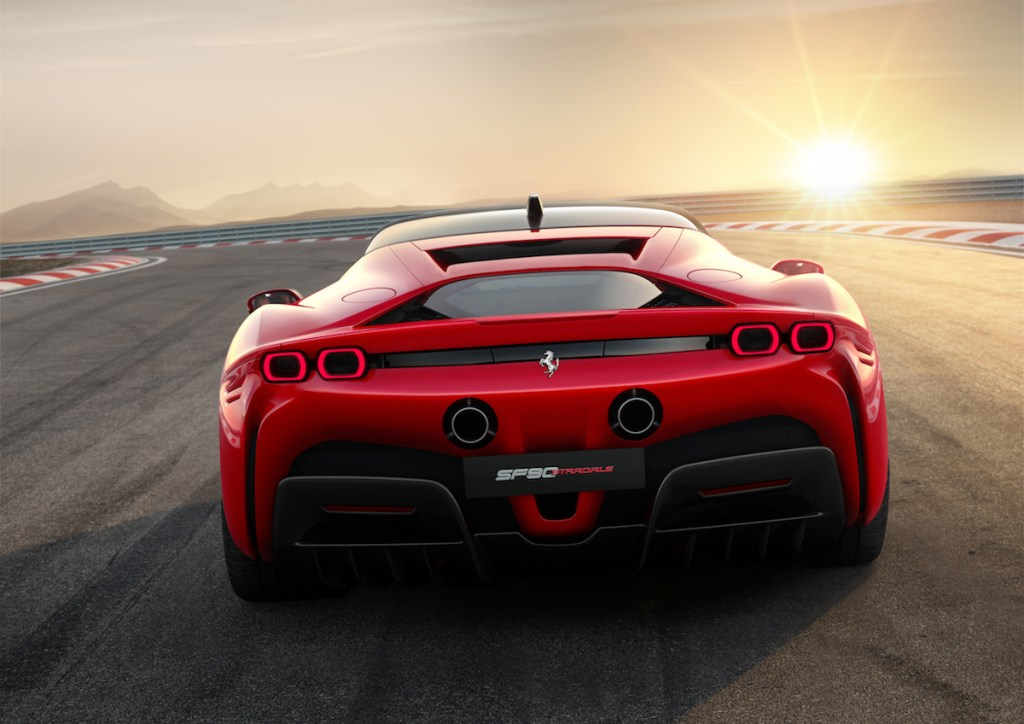 ferrari sf90 stradale hybrid v8 turbo all-wheel-drive