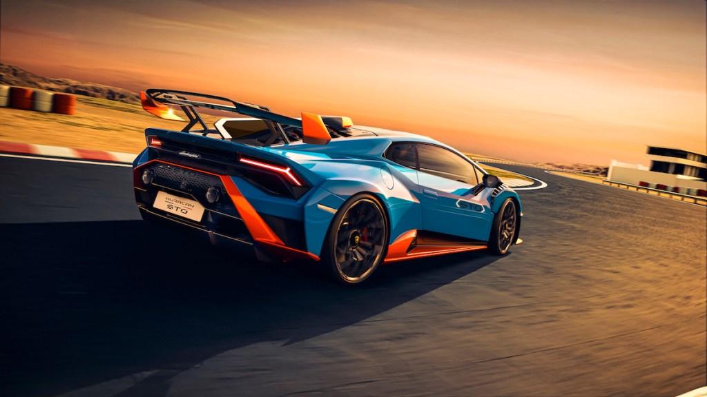 lamborghini huracan sto new model racing super sports car price